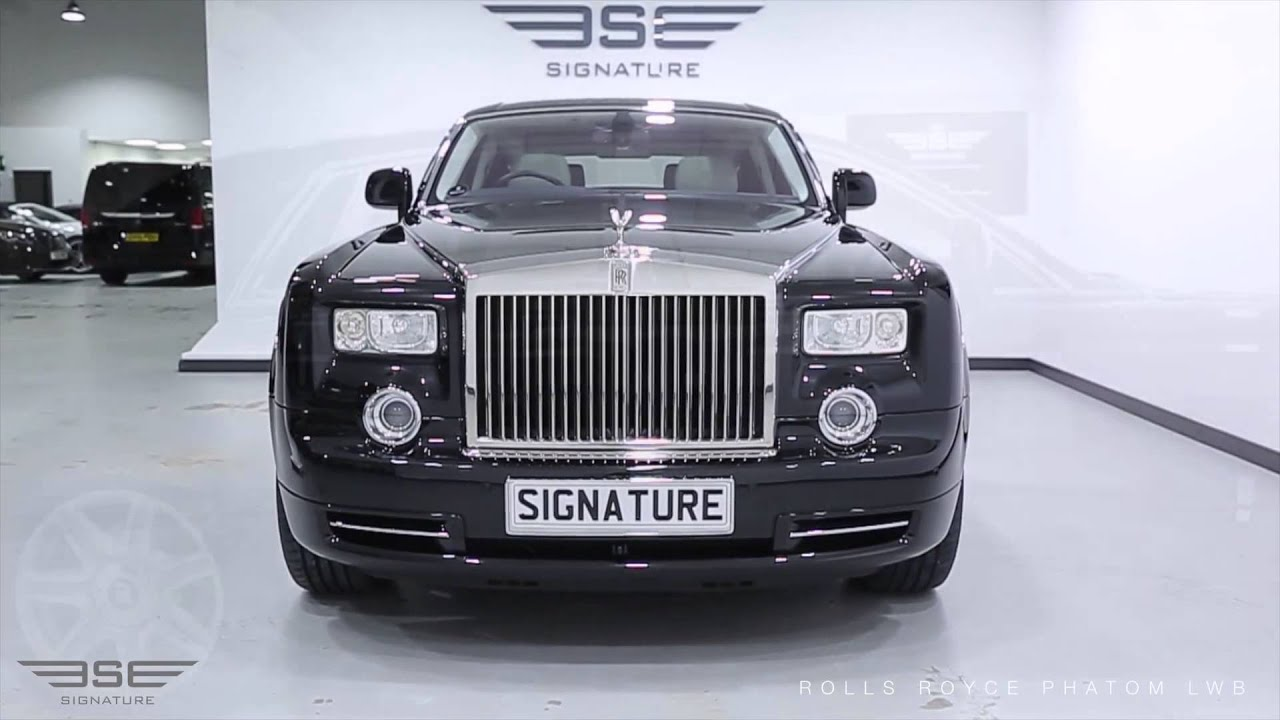 Rolls Royce For Hire >> Rolls Royce Phantom Extended Wheel Base - YouTube