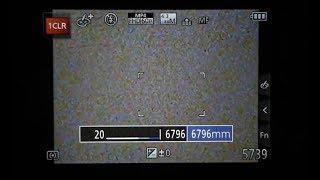 Panasonic Lumix FZ80 Settings - My Settings for 6796 mm FL
