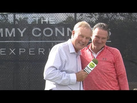 Jimmy Connors Tennis Experience  ITWTKoz