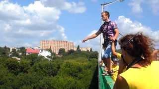 Роуп-джампинг (Каменец-Подольский, мост Бегущая лань)