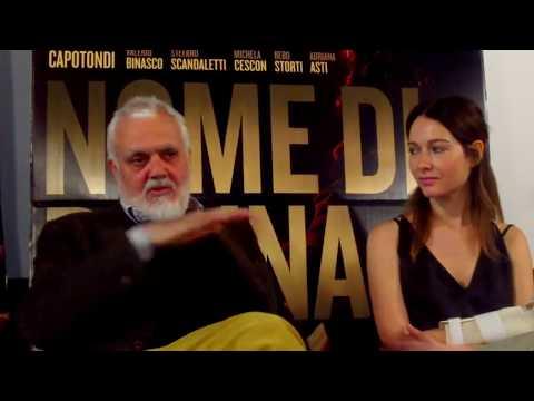 Nome di Donna: conferenza stampa con Marco Tullio Giordana, Cristiana Capotondi