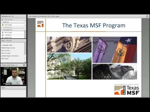 Texas MSF Online Info Session