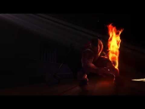 Dunkmaster Darius Login Screen (Unfinished)