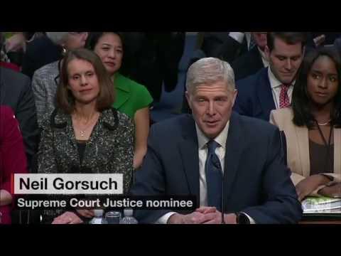 Neil Gorsuch faces Senate Judiciary Committee