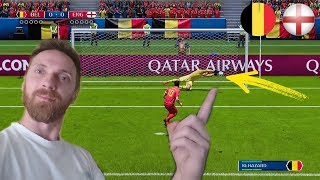 FIFA 18 KARNE CHALLENGE BELGIA VS ANGLIA FIFA WORLD CUP RUSSIA 2018 *jak on to zrobił*