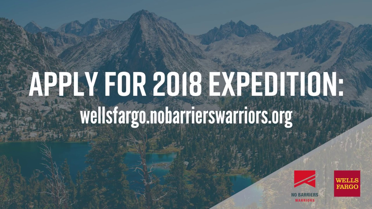 No Barriers Warriors - Sponsored by Wells Fargo