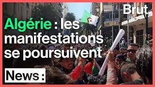 Algérie : les manifestations se poursuivent malgré les annonces