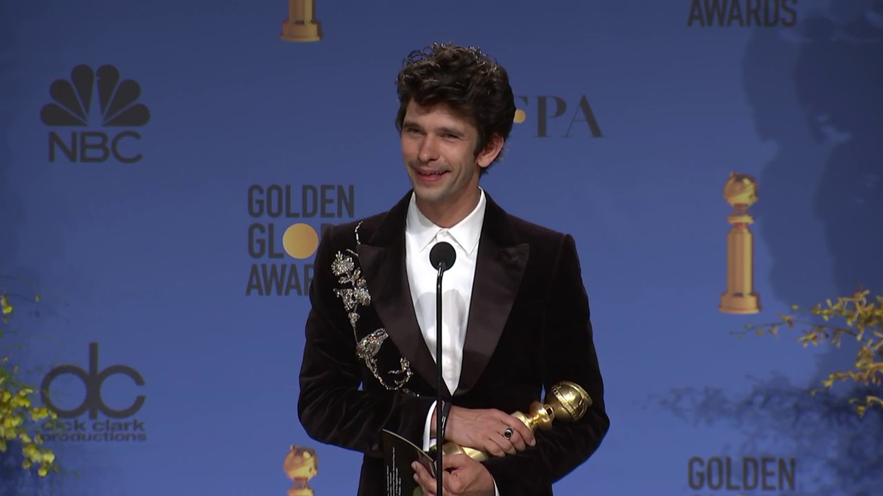 Ben Whishaw - 2019 Golden Globes - Full Backstage Interview