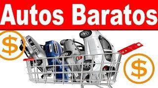 Los autos más baratos en el mercado mexicano.