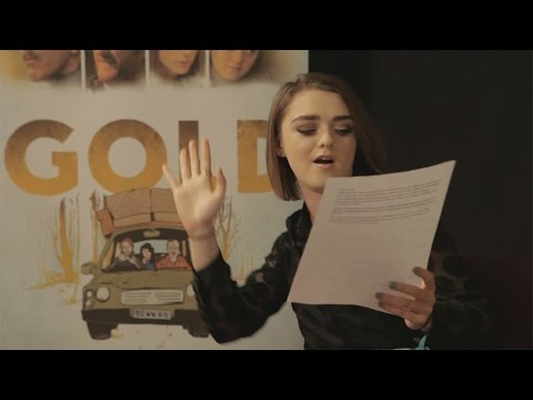 Maisie Williams sings 80's hit 'Gold' | Today | RTÉ One