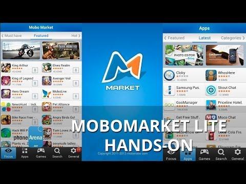 MoboMarket Lite Hands-on