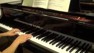 ベートーヴェン ピアノソナタ第21番op.53 ワルトシュタイン第1楽章