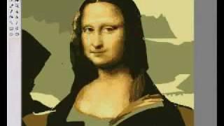 Facebook   Videos of Zara Khan  Mona Liza Painting in Paint brush   ).mp4