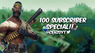 | 100 Subscriber Special!! | Fortnite Clip's & Build Battle's E.7 | Like and Subscribe |