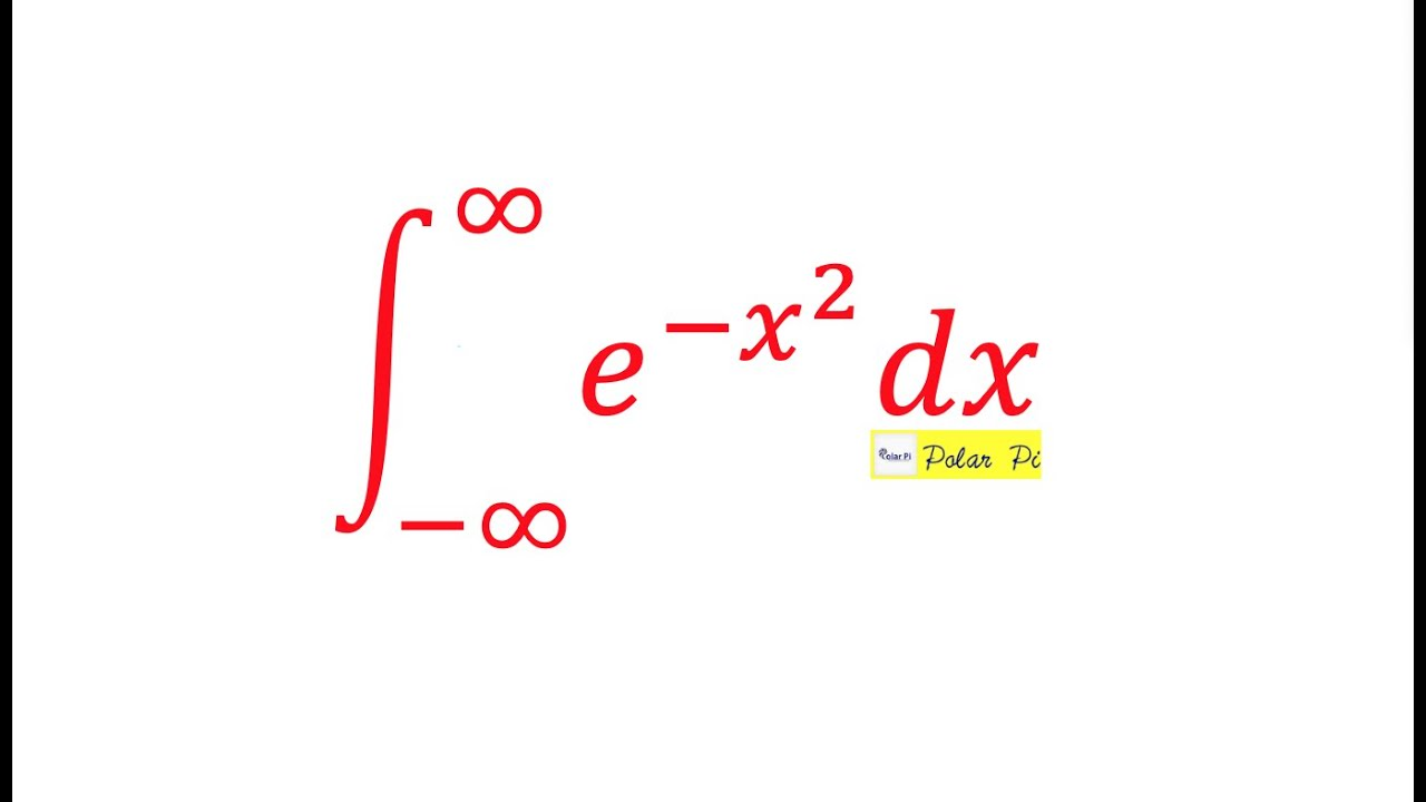 calculus integral of exp x 2 gaussian integral