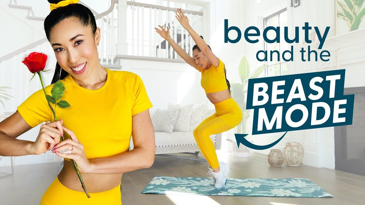 Belle's Beast Mode Bootcamp - Disney Princess Total Body Workout!