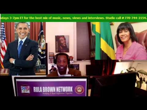 President Barack Obama doing the BOINK Reggae dance in preparation for his Trip to Jamaica in April