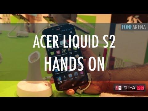 Acer Liquid S2 Hands On