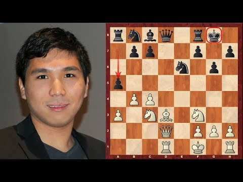 Wesley So's Chess : Mega exciting hack-attack! - vs Giri - Gashimov Memorial (2015)