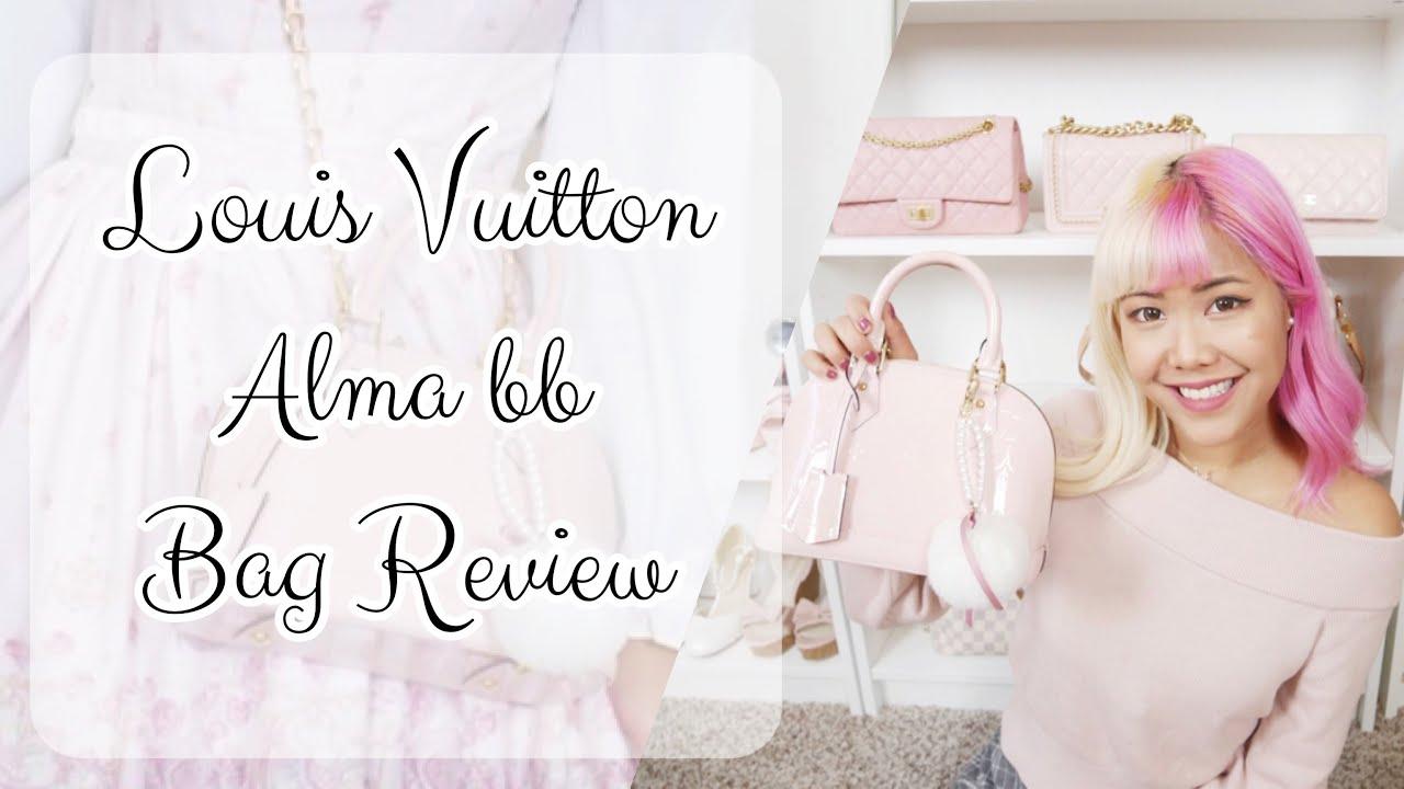 Are Louis Vuitton Bags Made In Usa Yoogis Closet Blog >> Louis Vuitton Alma Bb Review What Fits Mod Shots Yoogi S Closet Xsakisaki