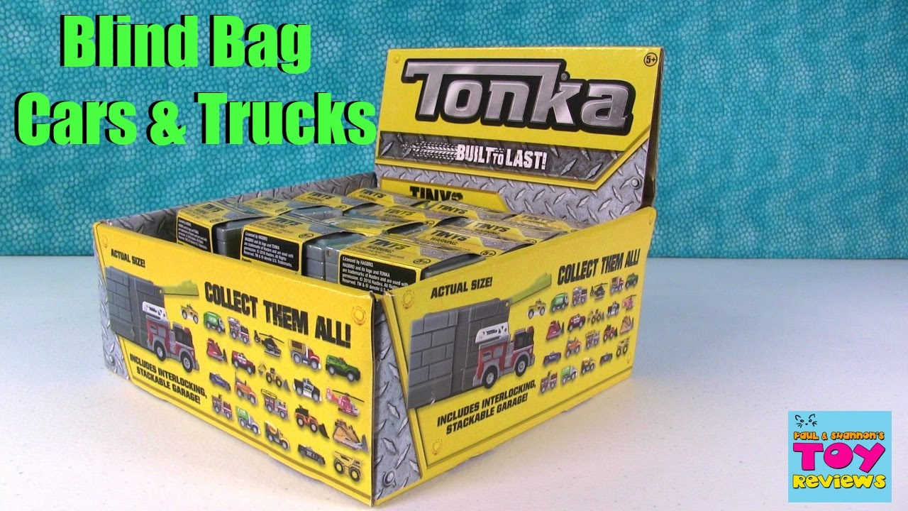 Tonka Tiny S Built To Last Blind Box Vehicles Toy Review
