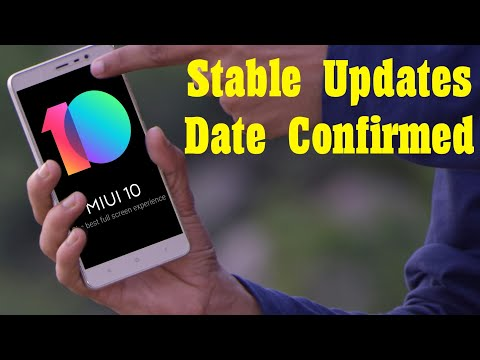 MIUI 10 Global Stable ROM Confirm Dates?😱😱😱🇮🇳