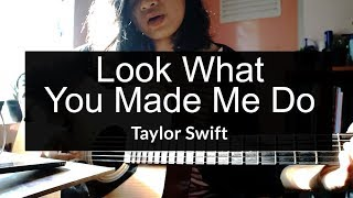 Look What You Made Me Do - Taylor Swift (acoustic cover)
