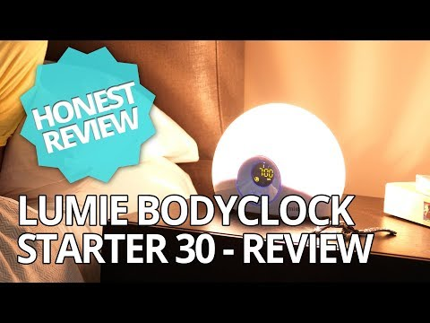 Lumie Bodyclock Starter 30 - SAD Light Therapy - Honest Review