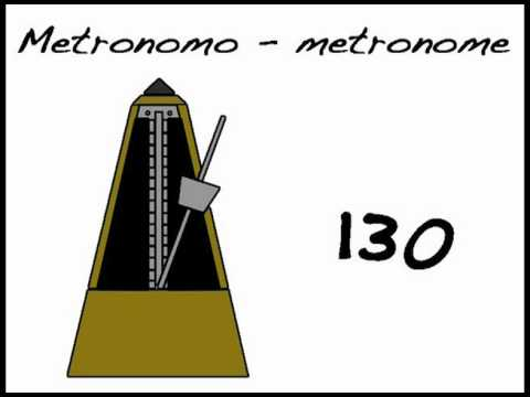 METRONOMO - METRONOME 130 BPM