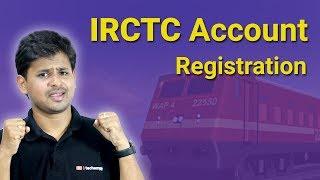 İRCTC bir Hesap Oluşturmak için Nasıl İRCTC Yeni Kayıt:?