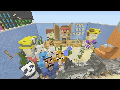 Minecraft XBOX - Hide and Seek - Old West