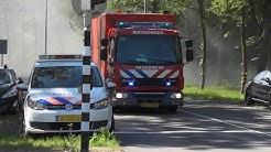 Grote brand in Villa van ruim 2 miljoen euro in Capelle aan den Ijssel, brandweer rukt groots uit!