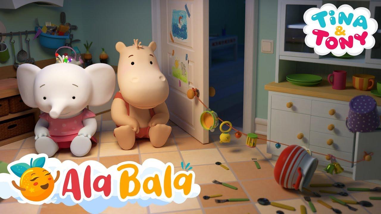 Hoții de prăjituri (Ep 16) Tina și Tony - Desene animate educative | AlaBala