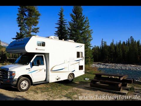 Motorhome trip in Canada - British Columbia & Alberta