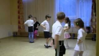 Открытый урок ритмики в детском саду (полька)