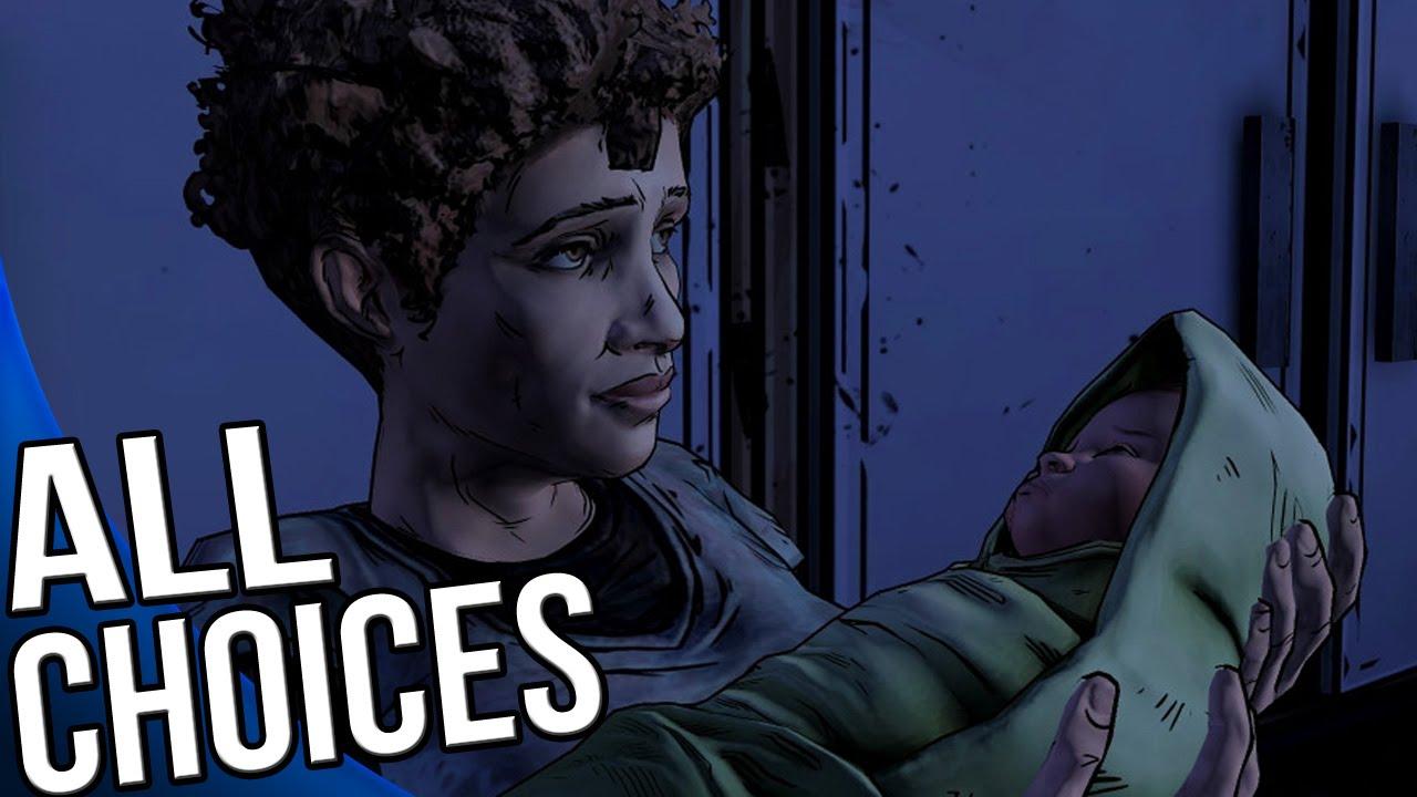 The Walking Dead Season 2 Episode 4 - All Choices/ Alternative Choices