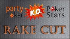 Partypoker RAKE REDUCTION