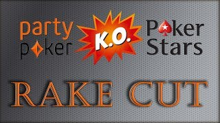 Partypoker RAKE REDUCTION