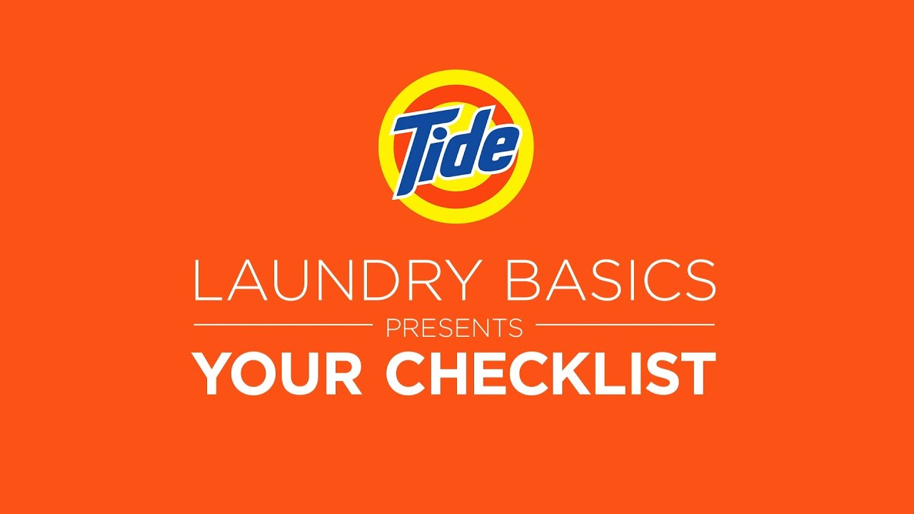 Laundry Tips for College Students - Tide