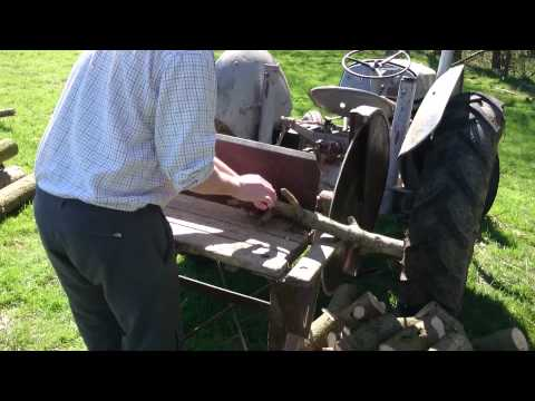 cordwood saw video 2