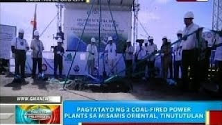 BP: Pagtatayo ng 2 coal-fired power plants sa Misamis Oriental, tinututulan