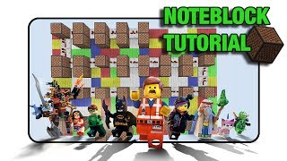 "Lego Movie ""Everything Is Awesome"" Doorbell - Note Block ""Tutorial"" (Minecraft Xbox/Ps3)"