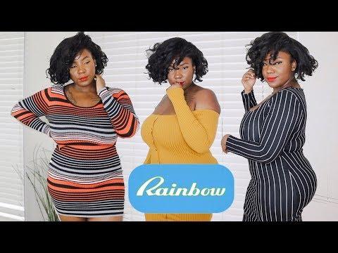 rainbow-|-winter-sweater-dresses-|-plus-size-try-on-haul