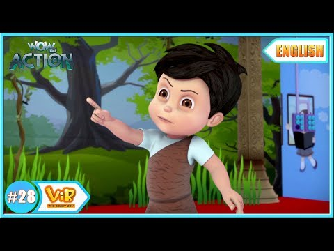 Vir: The Robot Boy | The Drama competition |  English episodes for Kids | WowKidz Action