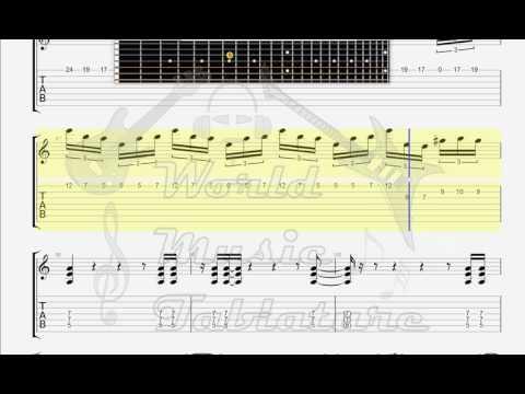 Dream Theater   The Dance of Eternity GUITAR TAB
