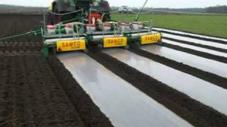 Repeat youtube video samco maize drill in germany laying degradable plastic mulch march 2009