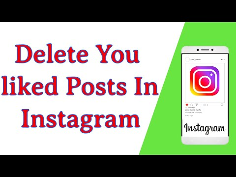 How To Remove Or Unlike You Liked Posts In Instagram.
