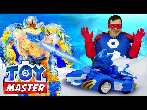 Трансформеры или Монкарты: кто круче? Той Мастер в видео с машинками для мальчиков. Игры онлайн.