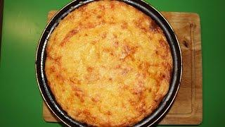 Картофельная запеканка с фаршем. Potato gratin with meat.