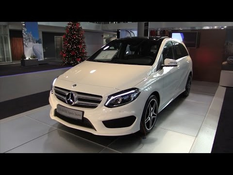 Mercedes-Benz B Class 2017 In Depth Review Interior Exterior